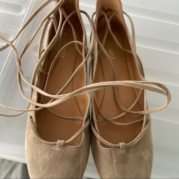 Designers fabulous Nine West ballerina flats